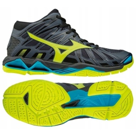 Sapatos de voleibol Mizuno Wave Tornado X2 Mid M V1GA181747