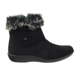 Botas pretas super confortáveis Aloeloe preto