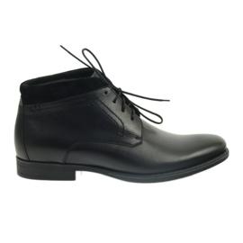Preto Botas de inverno para homem Pilpol 2194 black