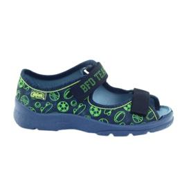 Sapatos de sandálias infantis Befado chinelos 969x124