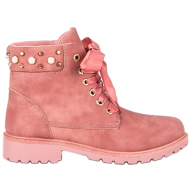 McKey Caçadores casuais cor-de-rosa