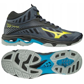 Sapatos de voleibol Mizuno Wave Lighting Z4 M M Mid V1GA180547