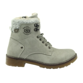 Sapatos ligados cinza DK2025