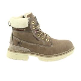 American Club Botas americanas botas de inverno botas de borracha 708122 marrom
