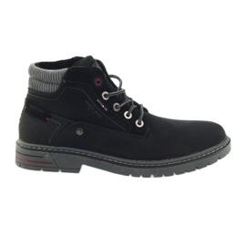 American Club Sapatilhas americanas sapatos inverno trekking preto