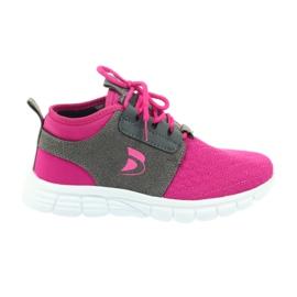 Calçado desportivo infantil Befado 516Y033 rosa