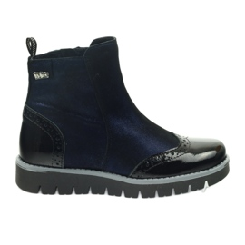 Ren But Botas quentes Ren Boot 4379 azul marinho