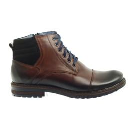 Marrom Sapatos masculinos marrons Nikopol 683