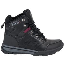 Sapatos de Trekking para Mulher por MCKEYLOR preto