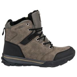 Sapatos de Trekking para Mulher por MCKEYLOR marrom