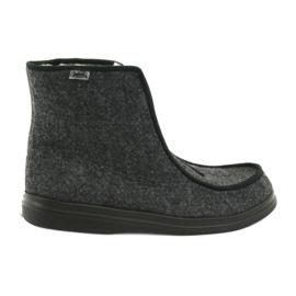 Sapatos femininos Befado pu 996D004 cinza