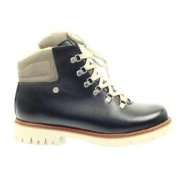 Marrom Botas de madeira botas de prevenção Bartek