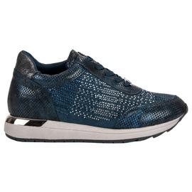 Kylie Sapatos Esportivos Elegantes azul