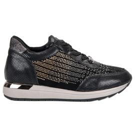 Kylie Sapatos Esportivos Elegantes preto