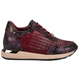 Kylie Sapatos Esportivos Elegantes vermelho