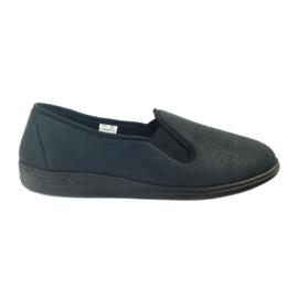 Preto Befado sapatos sapatilhas dos homens chinelos 013M312