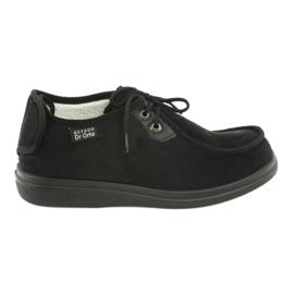Sapatos femininos Befado pu 387D005 preto