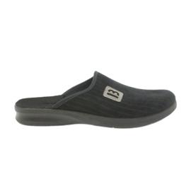 Sapatos masculinos Befado chinelos 548m015 preto
