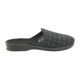 Sapatos masculinos Befado chinelos 089M408 preto