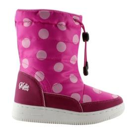 -de-rosa Botas de orthalion para crianças k1646109 Rose
