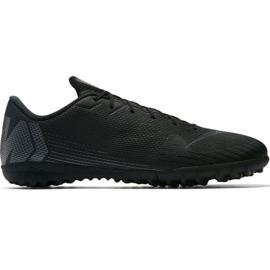 Sapatilhas Nike Mercurial Vapor X 12 Academy Tf M AH7384-001 preto preto