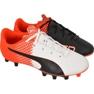 Botas de futebol Puma evoSPEED 5.5 Tricks Fg Jr 10362903 vermelho branco, preto, vermelho