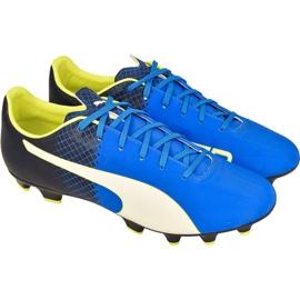 Sapatos de futebol Puma evoSPEED 4.5 Fg M 10359204 azul azul