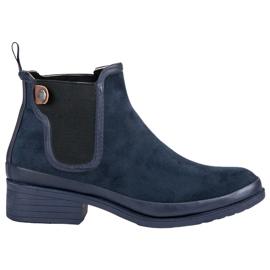 Kylie Botas de botas de Jodhpur azul