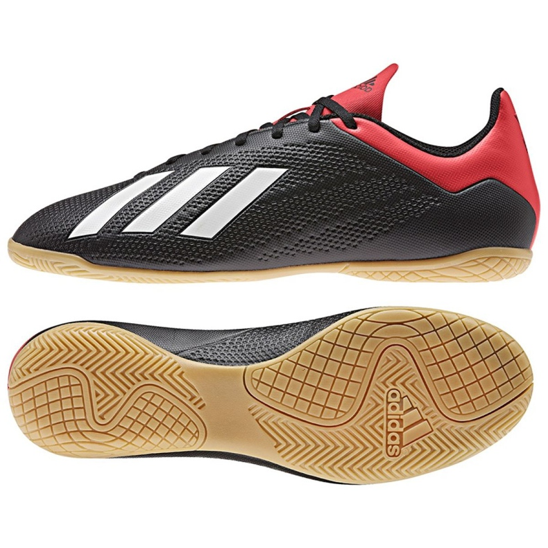 Sapatos de interior adidas X 18.4 In M BB9405 preto preto