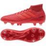 Chuteiras de futebol adidas Predator 19.3 Sg M D97958 vermelho vermelho