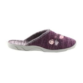 Chinelos de sapatos femininos Befado 235d152 roxo