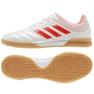Sapatos de interior adidas Copa 19.3 no quarto M D98065 branco