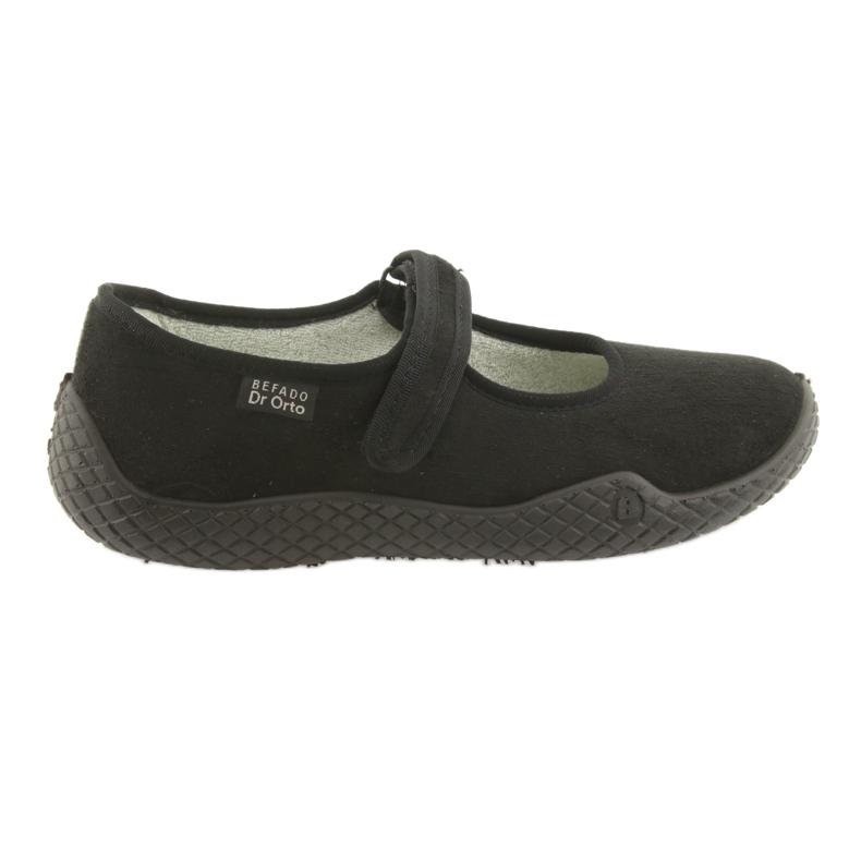 Sapatos femininos Befado pu - jovens 197D002 preto