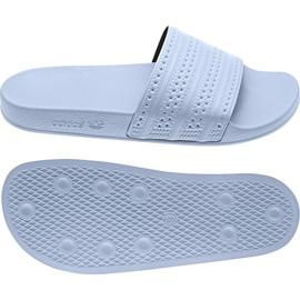 Chinelos Adidas Originals Adilette na BA7539 branco