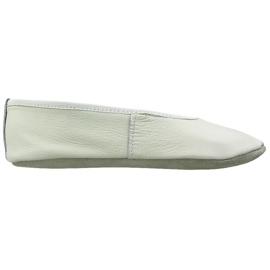 Branco Sapatilhas de balé de ginástica