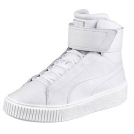 Branco Sapatos Plataforma Puma Meados Wn W 364242 02