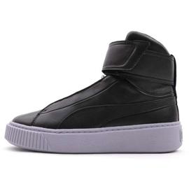 Preto Sapatos Plataforma Puma Meados Wn W 364242 03