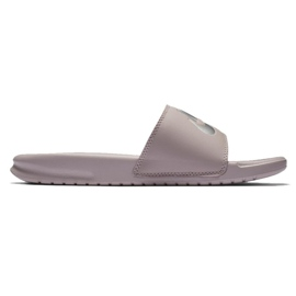 Cinza Chinelos Nike Benassi Just Do It W 343881-614