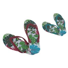 Multicolorido Chinelos, chinelos Speedo Jungle Thong