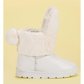 Seastar branco Botas de neve Mukluki