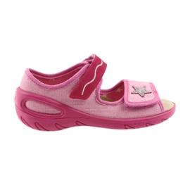 Sapatos infantis Befado sandálias palmilha de couro 433X032