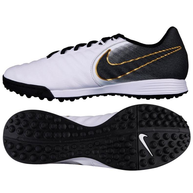 Sapatos de futebol Nike Tiempo LegendX 7 Academia TF M AH4243-100 branco