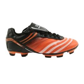 Sapatos de futebol Atletico FG Jr 14-1216 preto, laranja laranja