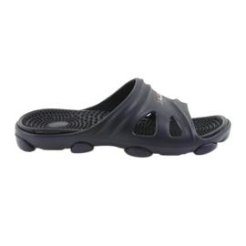 American Club Chinelos de sapatos de piscina dos homens americanos marinha
