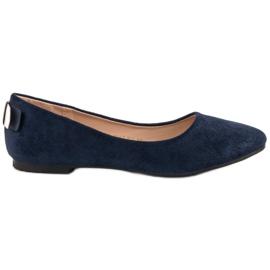 Vinceza Bailarina Confortável azul