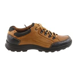DK Calçados esportivos masculinos camelo 0493