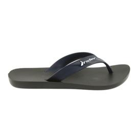 Rider Flip flops sapatos masculinos azul marinho
