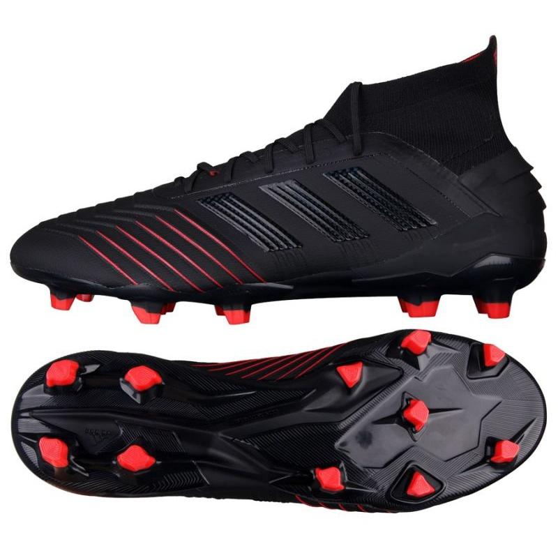 Chuteiras de futebol adidas Predator 19.1 Fg M BC0551 preto preto