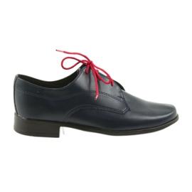 Miko sapatos calçados infantis Comunhão marinha