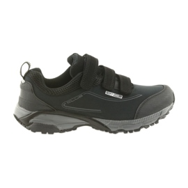 American Club Calçados esportivos femininos ADI com velcro americano softhell impermeável WT08 / 19 preto
